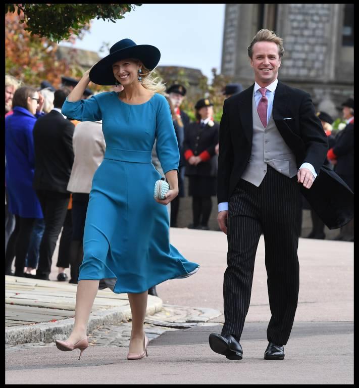 Die 37-Jährige Gabriella Windsor wird ihren Verlobten Thomas Kingston heiraten.  ©imago/i Images