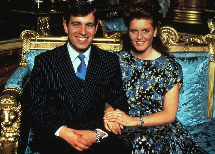 Am 23. Juli 1986 heirateten Prinz Andrew und Sarah Ferguson. Das Paar bekam die Töchter Eugenie und Beatrice. Nach fünfeinhalb Jahren Ehe trennten sie sich.  ©imago/ZUMA Press