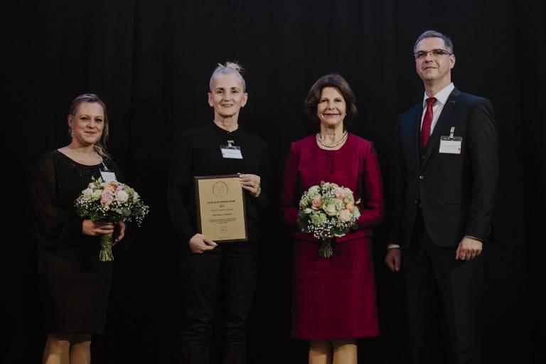 Annette Löser (li.) hat sich unter 220 Mitbewerbern durchgesetzt und das Stipendiat gewonnen.  ©imago/Nordphoto