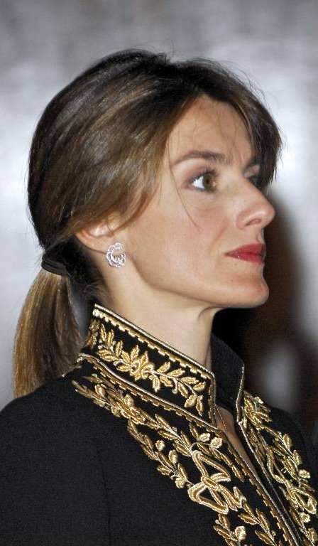 Ziemlich verändert: So sah Königin Letizia noch im Jahr 2007 aus.  ©imago/Radial Press