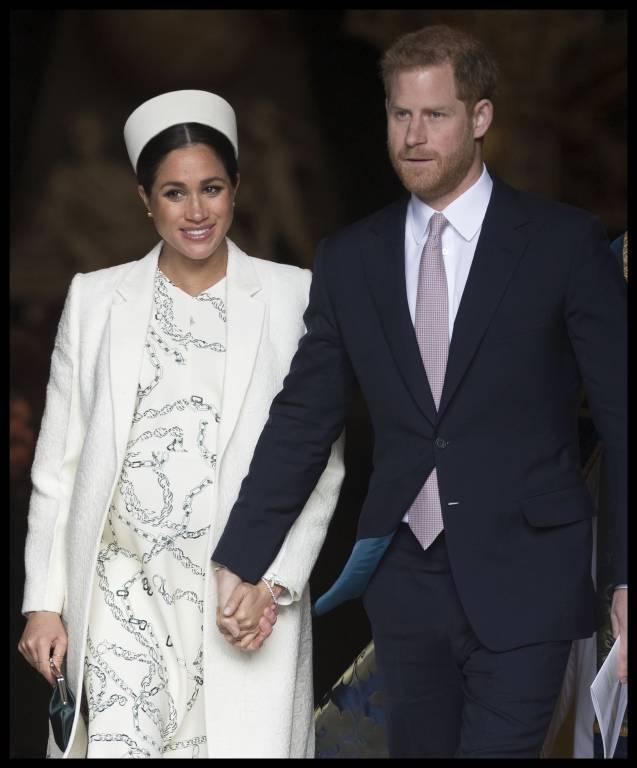 Das Baby von Herzogin Meghan und Prinz Harry soll noch diesen Monat zur Welt kommen.  ©imago images / i Images