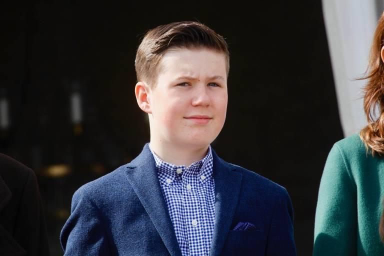 Prinz Christian steht nach seinem Vater auf Platz zwei der Thronfolge.  ©Imago