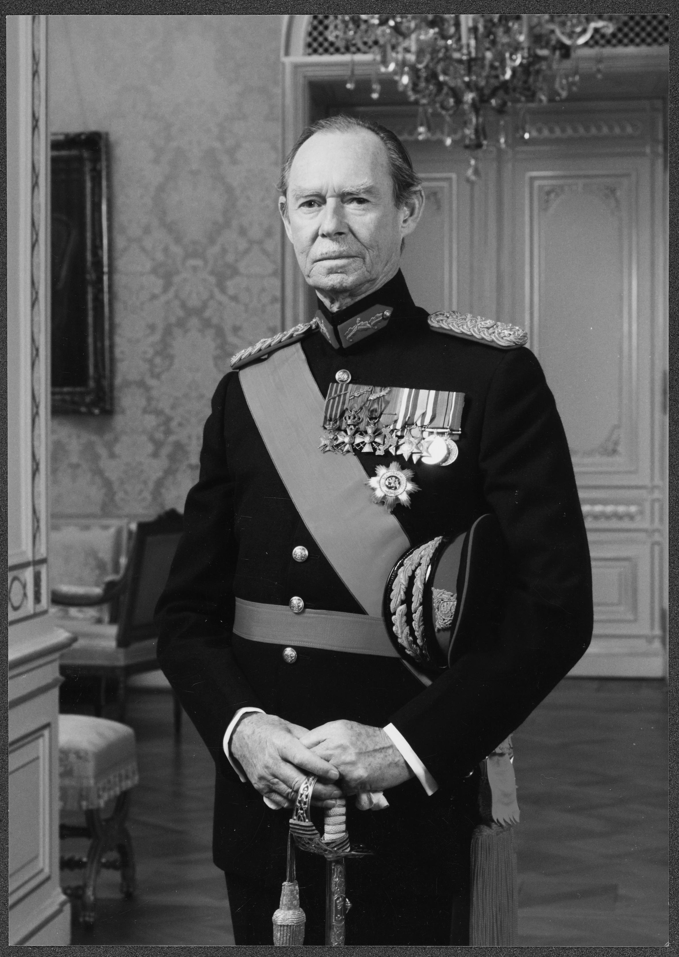 Jean von Luxemburg starb mit 98 Jahren.  ©Cour grand-ducale / Jochen Herling