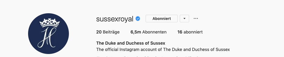 © Sussex Royal