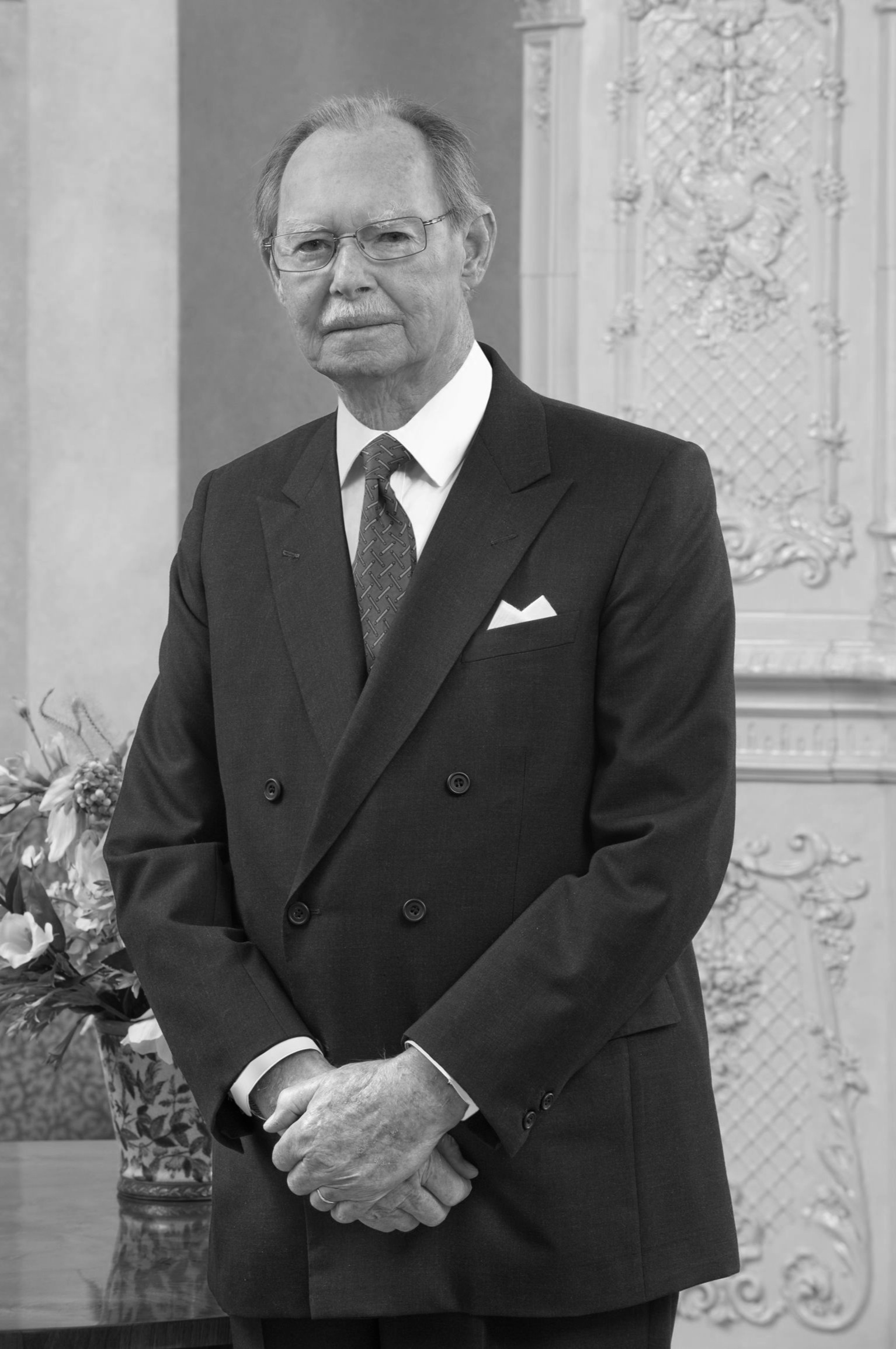 Ex-Großherzog Jean  Foto: Cour grand-ducale / Vic Fischbach