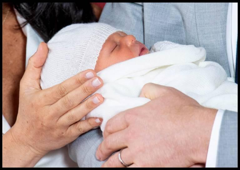 Der Sohn von Prinz Harry und Herzogin Meghan hat seinen ersten Auftritt verschlafen.  ©imago images / i Images