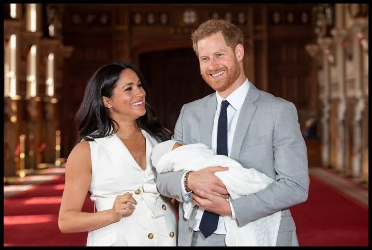 """""""Es ist magisch"""", schwärmt Herzogin Meghan über die Zeit mit ihrem Sohn Archie.  © imago images / i Images"""