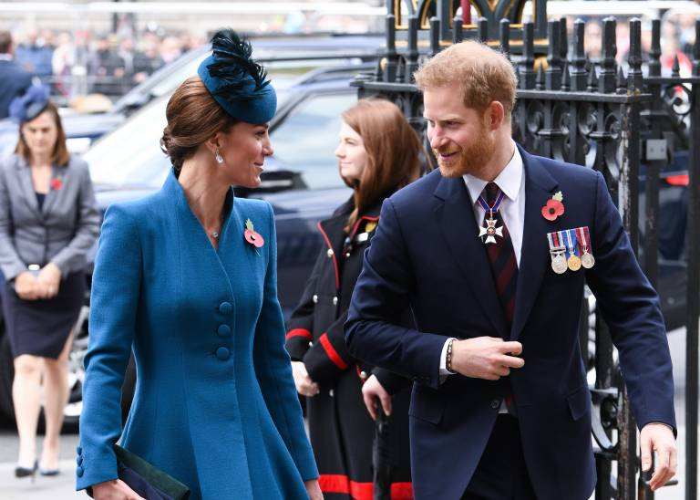 """Prinz Harry und seine Schwägerin verstehen sich blendend. """"Kate ist die Schwester, die ich niemals hatte"""", sagte er einmal.  ©imago images / PA Images"""
