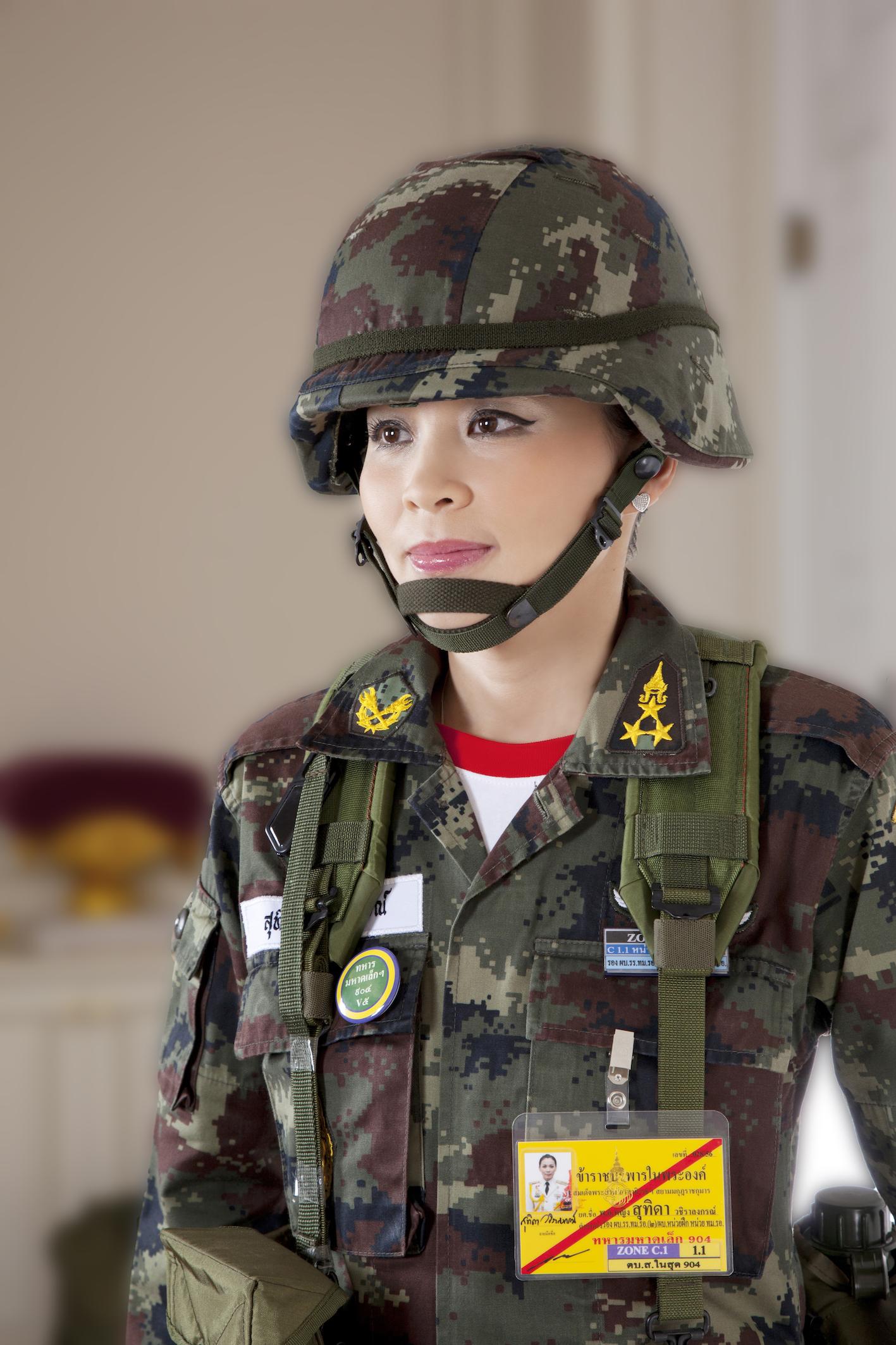 Stuhida ist Generalin der thailändischen Armee.  ©Public Relations Department Thailand