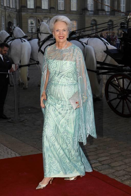 Wieder ein Grund zum Feiern für Prinzessin Benedikte. Die Schwester von Königin Margrethe feierte erst vor  wenigen Wochen ihren 75. Geburtstag.   ©imago images / PPE