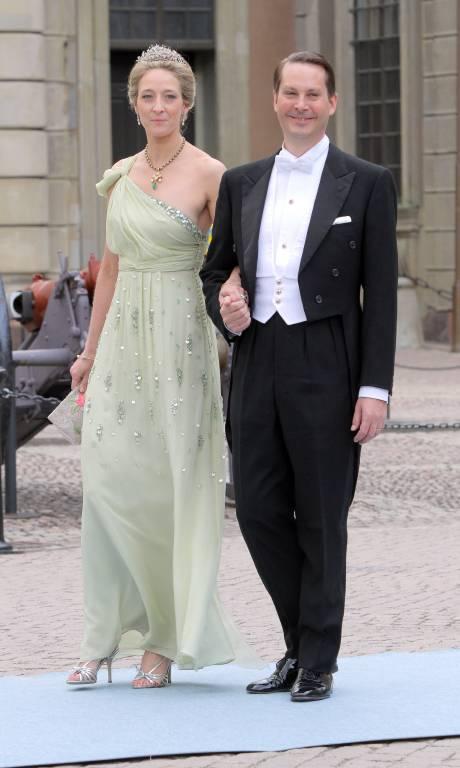 Prinzessin Alexandra mit ihrem Ex-Mann Jefferson von Pfeil und Klein-Ellguth.  ©imago images / Tinkeres