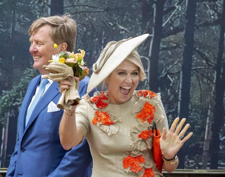 Königin Maxima singt und tanzt selbst gerne. Den Eurovision Songcontest in ihrem Heimatland wird sie sich garantiert nicht entgehen lassen.  ©imago images / PPE