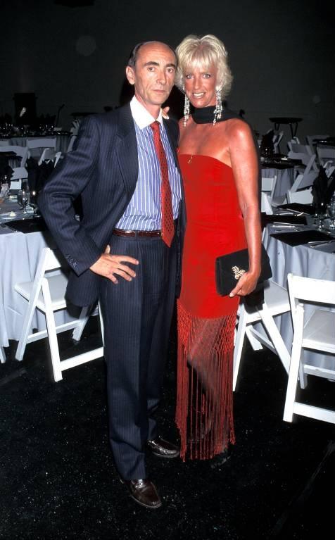 Ein Foto aus dem Jahr 1995. Prinzessin Marie-Christine mit ihrem Ehemann Jean-Paul Gourgues.  ©imago images / ZUMA Press