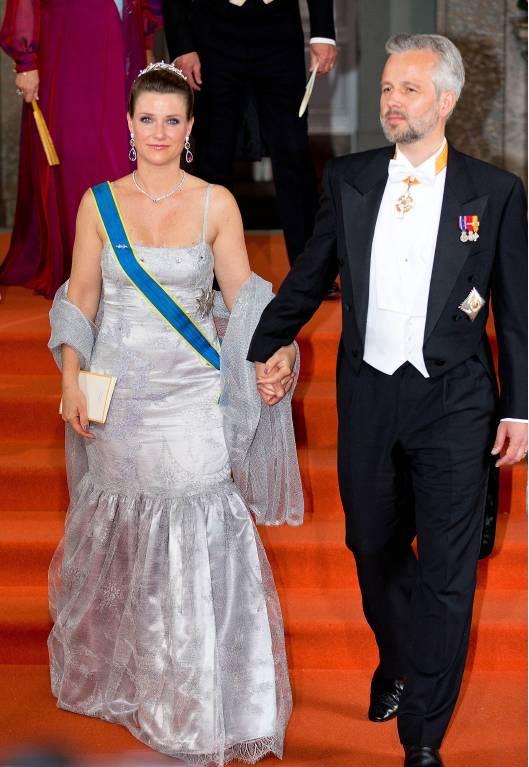 Zerbrochenes Glück: Im August 2016 gaben Prinzessin Märtha Louise und Ari Behn ihre Trennung bekannt.  ©imago images / PPE