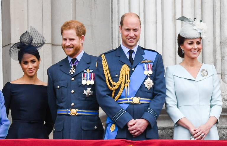 Herzogin Meghan, Prinz Harry, Prinz William und Herzogin Kate sind alle mit Talenten gesegnet, von denen aber kaum jemand etwas weiß. ©imago images / PA Images