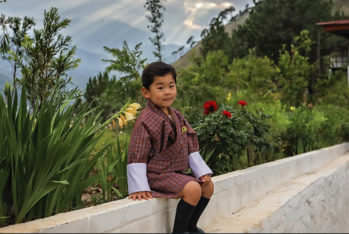 Prinz Jigme ist der einzige Sohn von Königin Jetsun und König Jigme.  © Royal Office Bhutan