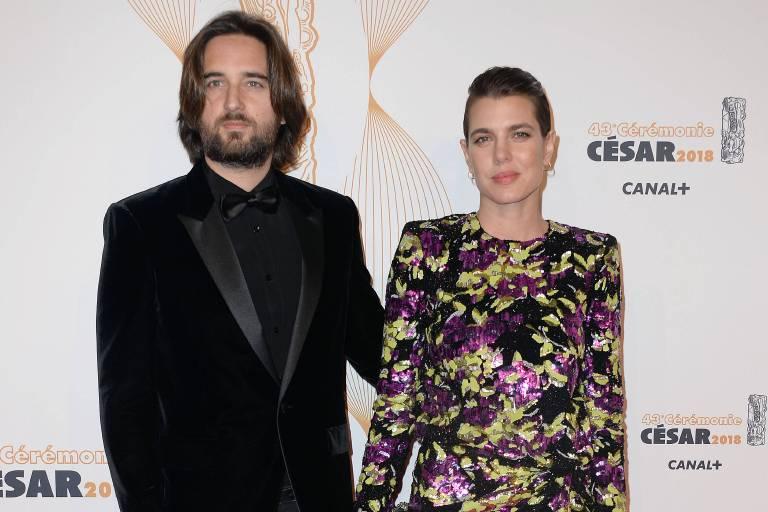 Nach zweieinhalb Jahren haben Charlotte Casiraghi und der Filmregisseur Dimitri Rassam geheiratet.  ©imago images / Starface