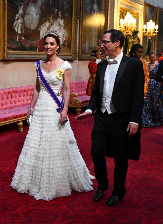 Herzogin Kate dürfte auf Donald Trump nicht gut zu sprechen sein. Nachdem Paparazzi sie nackt im Urlaub abgelichtet hatten, stellte sich der Immobilien-Tycoon damals auf die Seite der Fotografen.  ©imago images / Starface