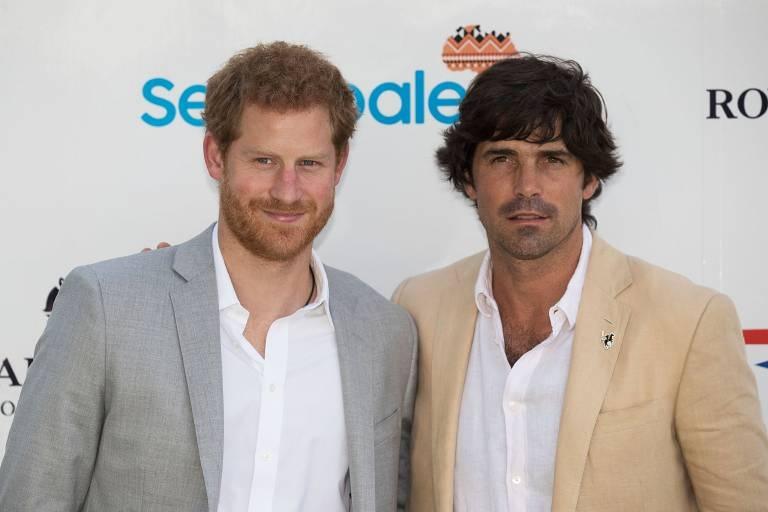 Prinz Harry und der argentinische Polo-Spieler Nacho Figueras sind seit Jahren eng befreundet.  ©imago images / PA Images