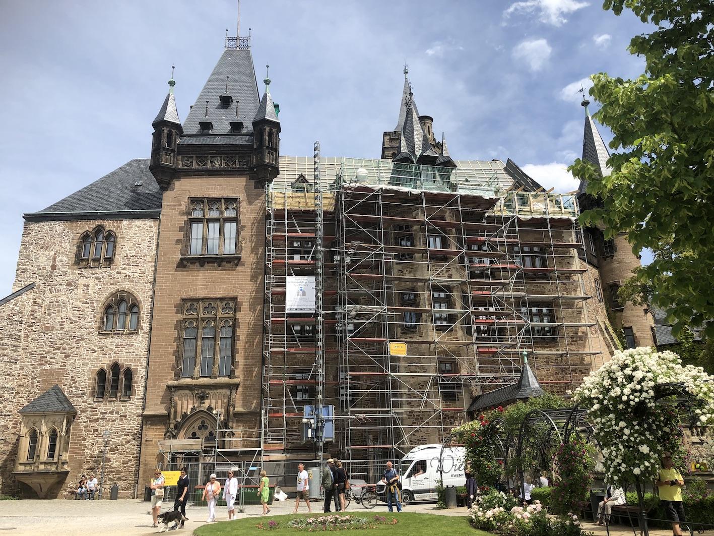 Aktuell wird das Schloss teilsaniert, weswegen nicht alle Räume besucht werden können.  ©ADELSWELT