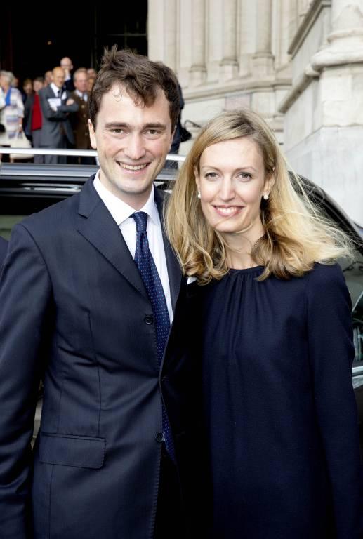 Belgische Royals im Glück: Prinz Amedeo und seine Frau Erzherzogin Elisabetta schenken Tochter Anna Astrid ein Geschwisterchen.  ©imago images / PPE