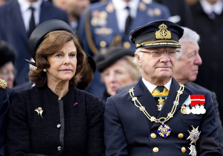 Königin Silvia und König Carl Gustaf trauern um ihre Freundin Ann-Christine Wallenberg.  ©imago images / PPE