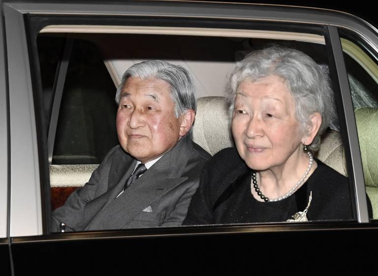 Ex-Kaiserin Michiko kämpft schon länger mit gesundheitlichen Problemen. Nun musste sie sich unter das Messer legen.  ©imago images / Kyodo News