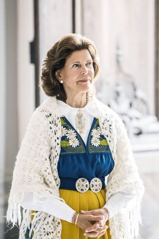 Berühmte Personen wie Königin Silvia werden immer wieder von Stalking.  © imago images / IBL