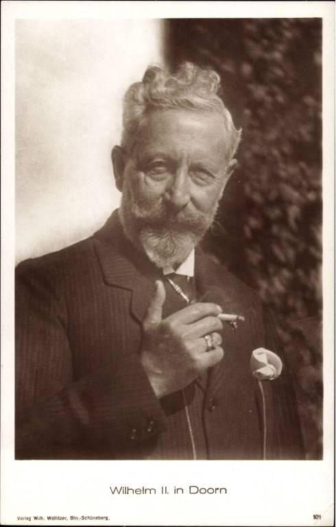 Auch Kaiser Wilhelm II. qualmte Zigaretten.  ©Imago