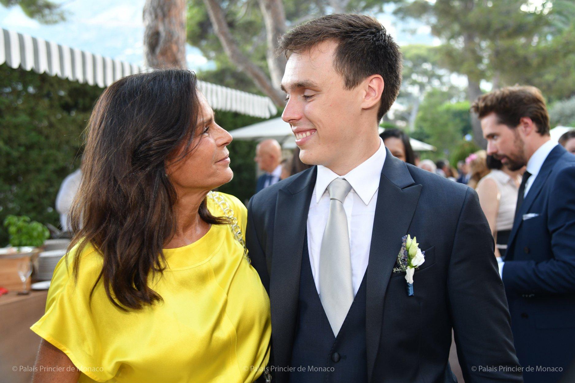 Prinzessin Stéphanie und ihr Sohn Louis Ducruet haben eine enge Bindung.  © Palais Princier de Monaco