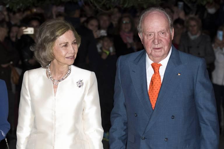 Juan Carlos behauptet, seine Frau Sofia nie betrogen zu haben. Von illegitimen Nachkommen will er nichts wissen. ©imago images / Future Image International