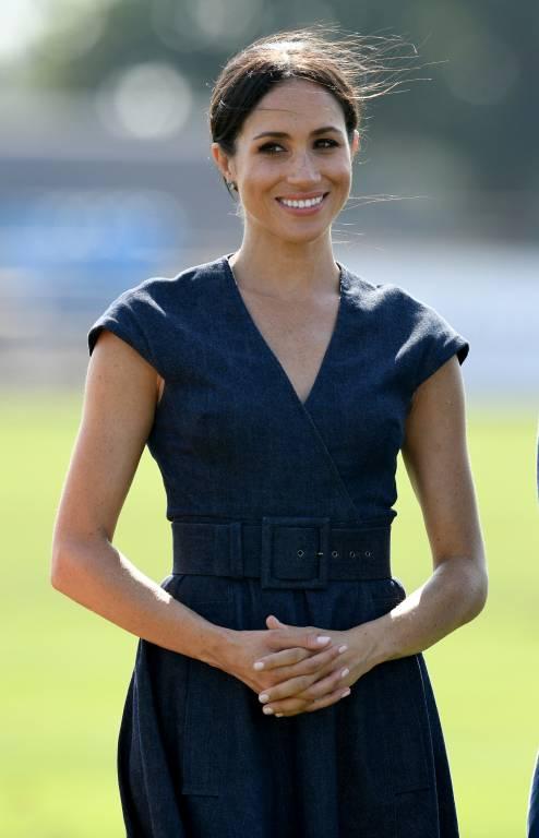Was Herzogin Meghan trägt, ist blitzschnell ausverkauft. Auch ihre eigene Modelinie wird sicher kein Ladenhüter.  © imago images / PA Images
