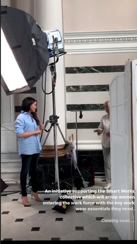 Herzogin Meghan stand selbst schon oft genug vor der Kamera. Sie weiß, worauf es bei einem Fotoshooting ankommt.  © instagram.com/sussexroyal/