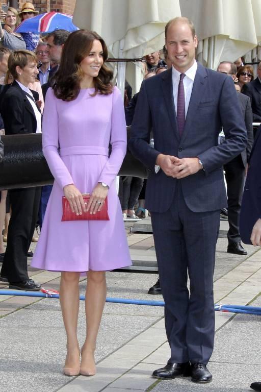 In Hamburg überraschte Herzogin Kate ihre Fans mit kürzeren Haaren. © imago images / Future Image