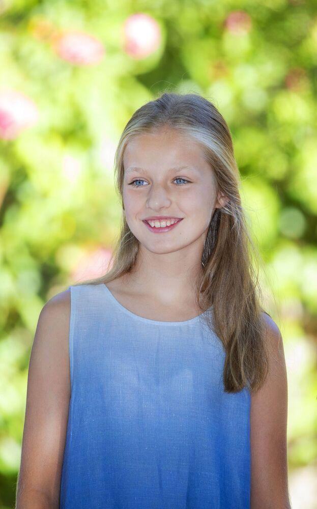 Prinzessin Leonor ist die älteste Tochter von König Felipe und Königin Letizia. Zuletzt gab es aber immer wieder Kritik an dem jungen Mädchen. © imago images / PPE