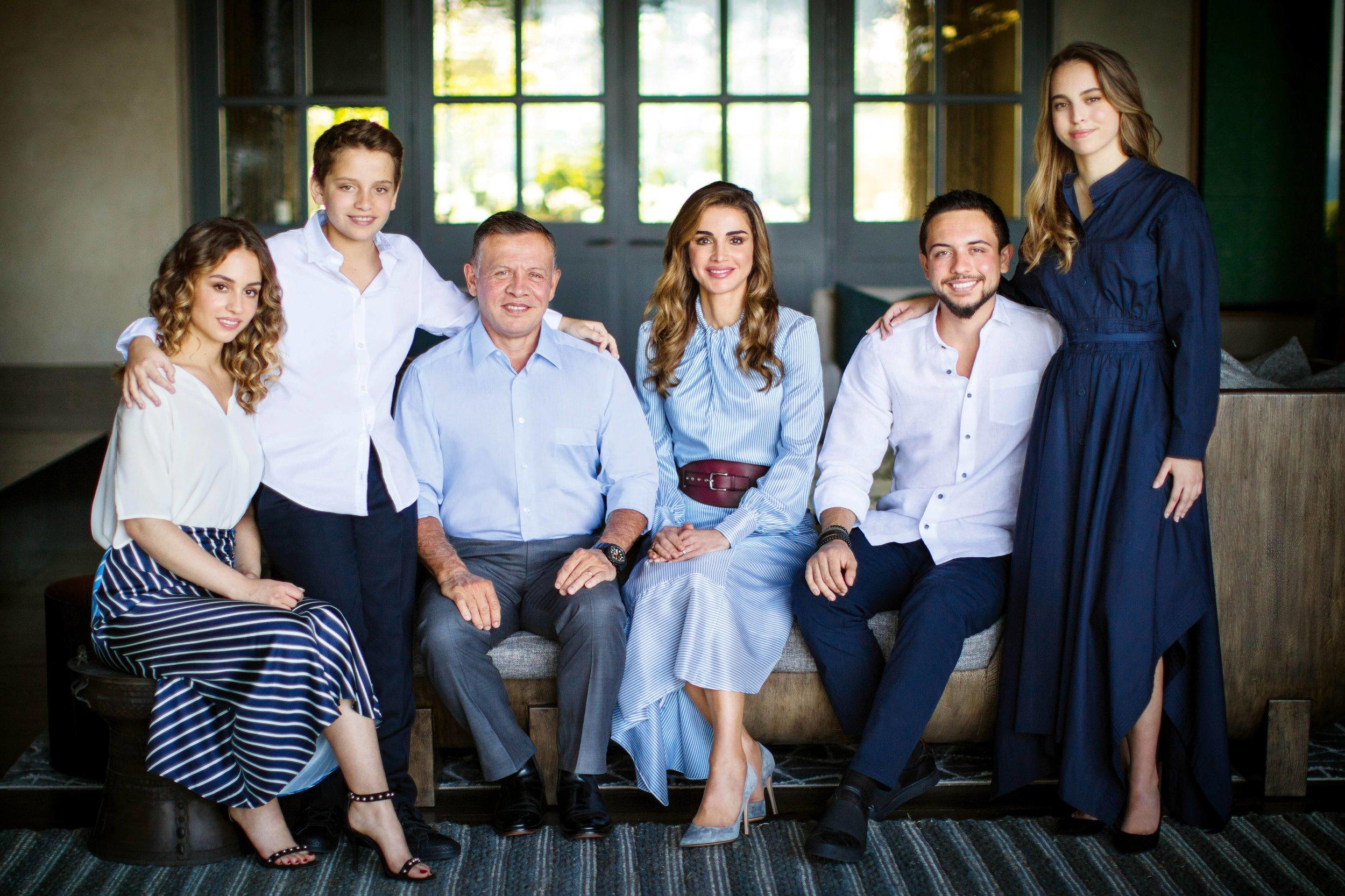 Die Königsfamilie von Jordanien  © imago images / PPE