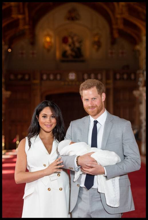 Herzogin Meghan und Prinz Harry wollen sicher nicht, dass ihr Sohn für Werbung missbraucht wird. Schon gar nicht für Drogen.  © imago images / i Images
