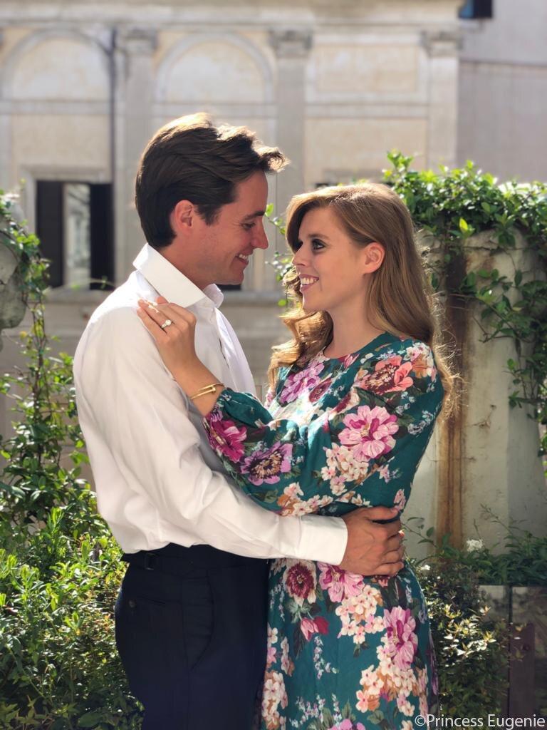 Prinzessin Beatrice und ihr Graf haben sich verlobt.  © Princess Eugenie