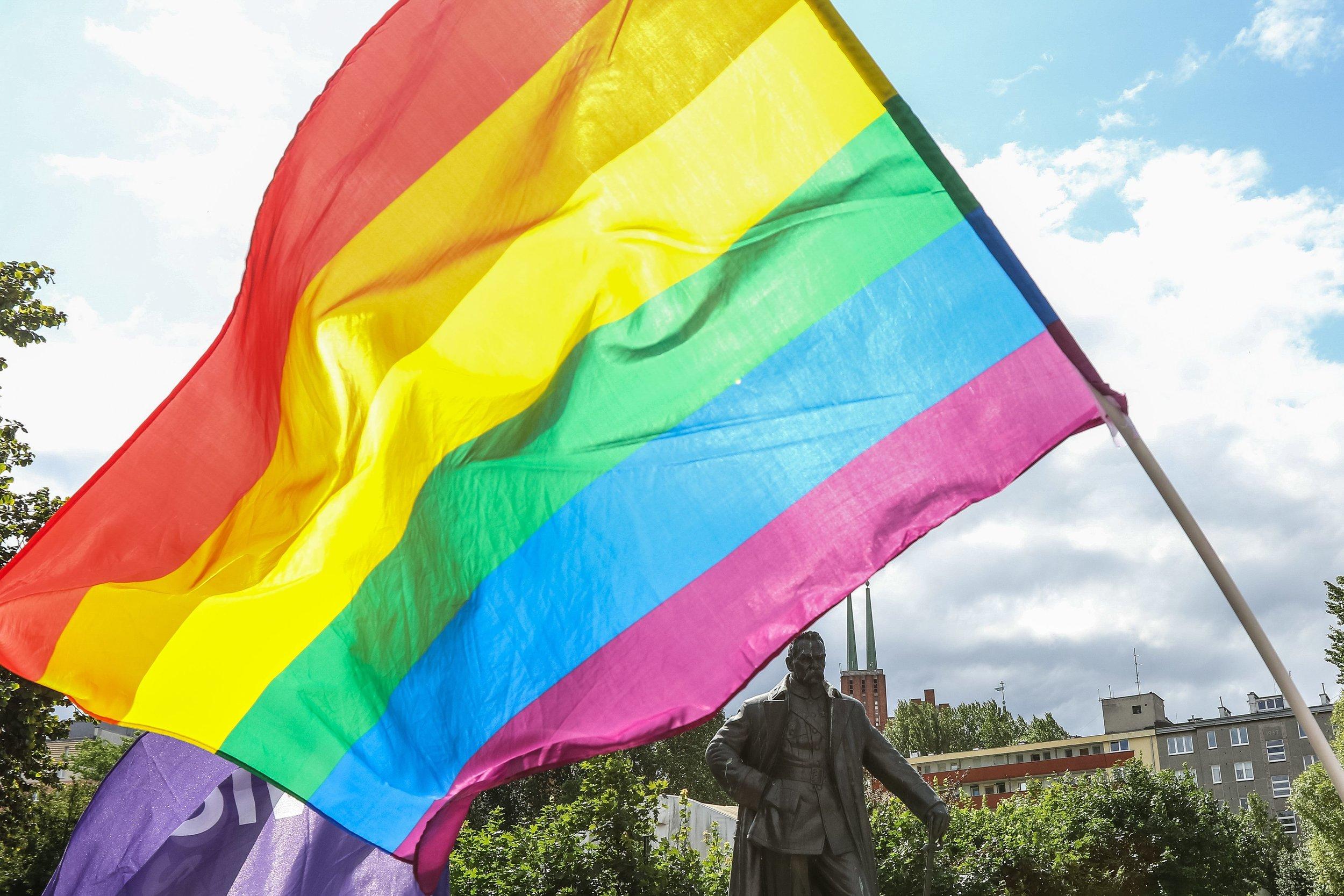 Homosexualität ist in Indien immer noch ein Tabu. Erst im September 2018 wurde das Verbot aufgehoben. Dazu beigetragen hat sicher auch Prinz Manvendra Singh Gohil mit seinem Outing. © picture alliance/ZUMA Press