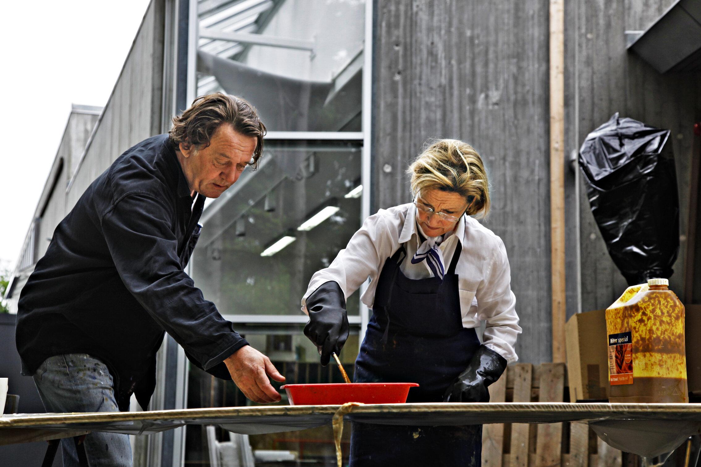 Königin Sonja zeigt sich herrlich uneitel bei ihrem Hobby.  © Rolf M. Aagaard / Det kongelige hoff