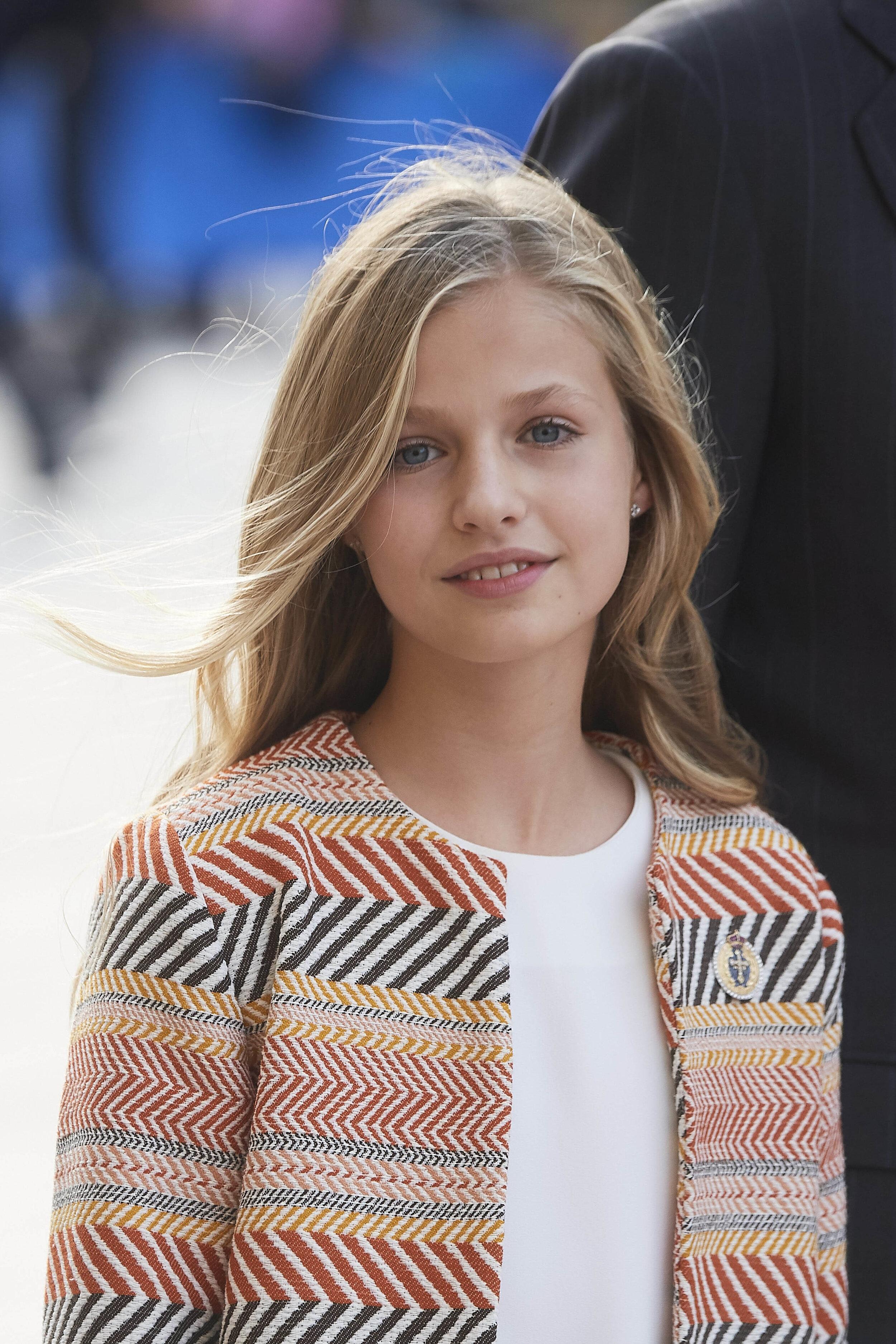 Prinzessin Leonor wird ihrem Vater König Felipe eines Tages auf den Thron folgen – falls die spanische Monarchie so lange überlebt.  © picture alliance/PPE