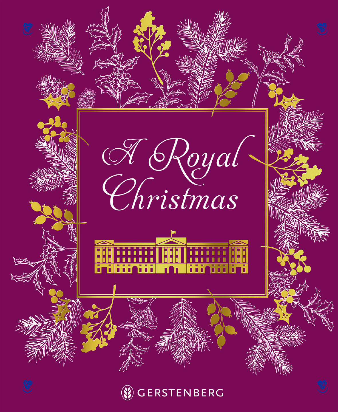 A Royal Christmas, Louise Cooling, Gerstenberg Verlag, 24 Euro,  Amazon-Link *