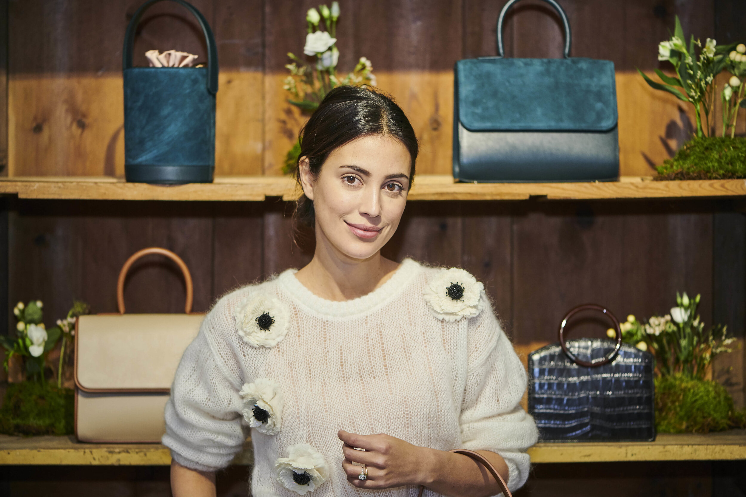 Alessandra von Hannover hat vor wenigen Tagen ihre neue Handtaschen-Kollektion vorgestellt.  © picture alliance/PPE