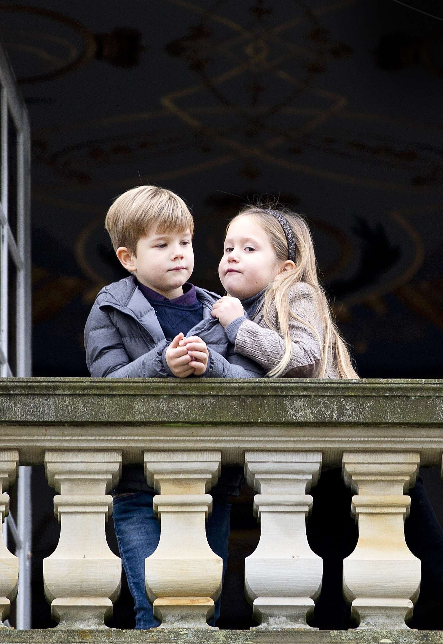Prinz Vincent und Prinzessin Josephine sind die Zwillinge von Kronprinzessin Mary und Kronprinz Frederik von Dänemark. © dpa