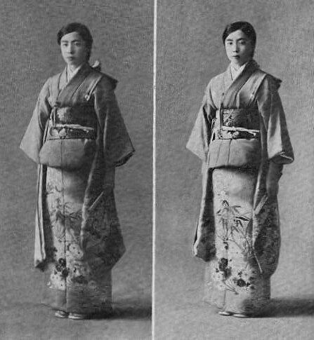 Die japanischen Zwillinge sind kaum zu unterscheiden. © Gemeinfrei