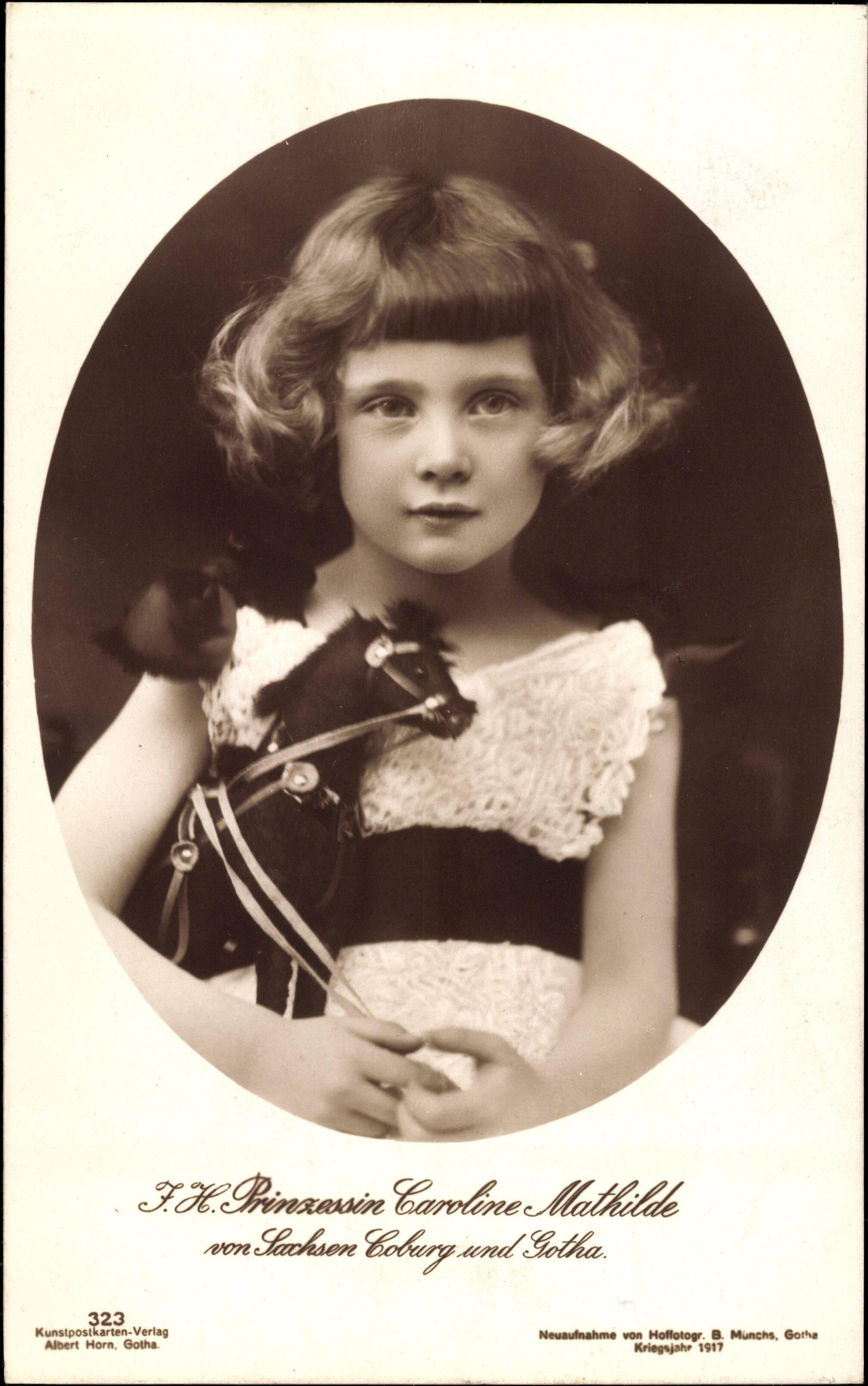 Prinzessin Caroline Mathilde wurde als Kind von ihrem Vater missbraucht. © imago images / Arkivi
