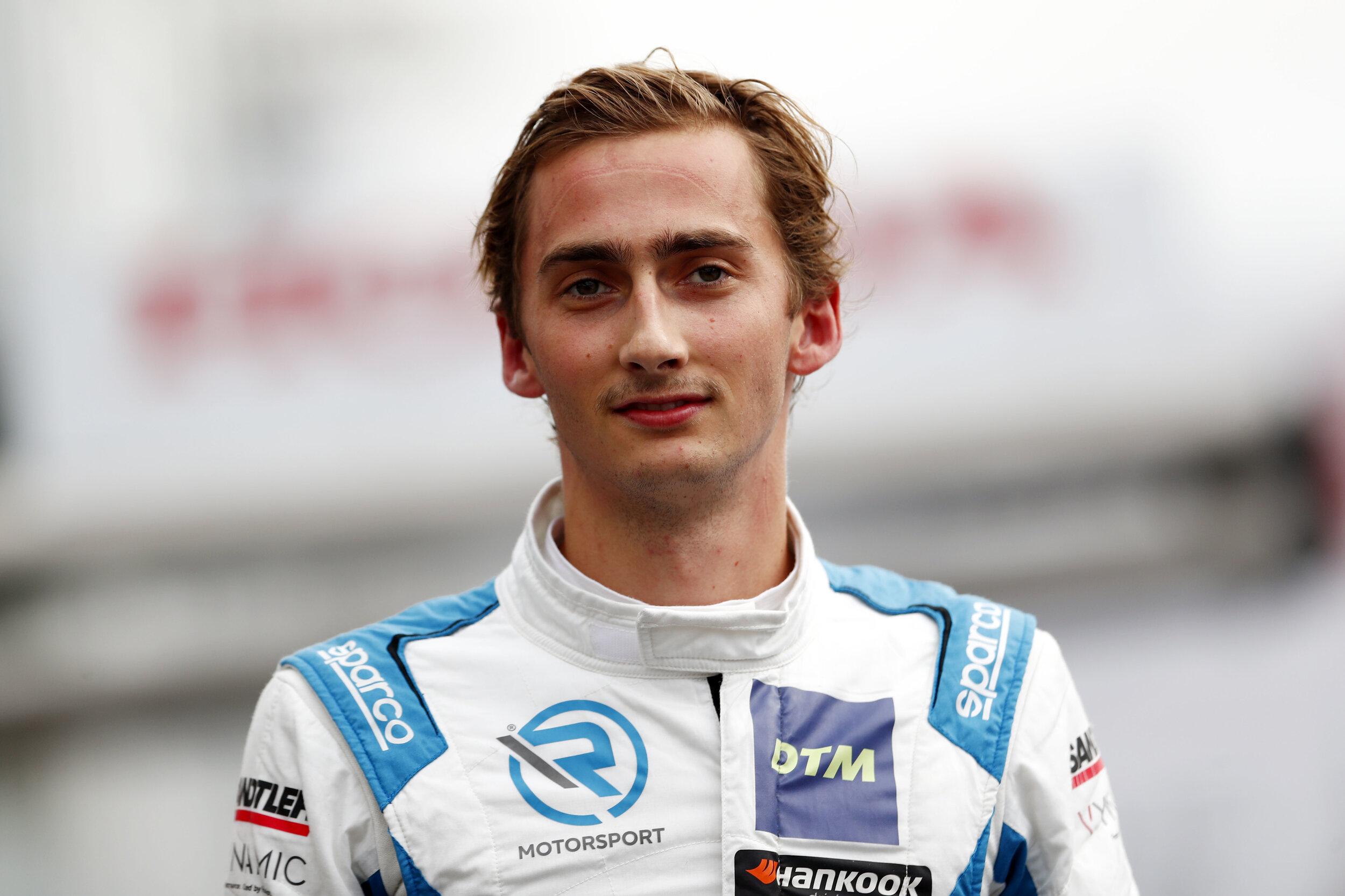 Ferdinand Zvonimir Habsburg-Lothringen ging 2019 bei der DTM an den Start. Die Saison schloss der 22-Jährige als Letztplatzierter ab.  © picture alliance/HOCH ZWEI