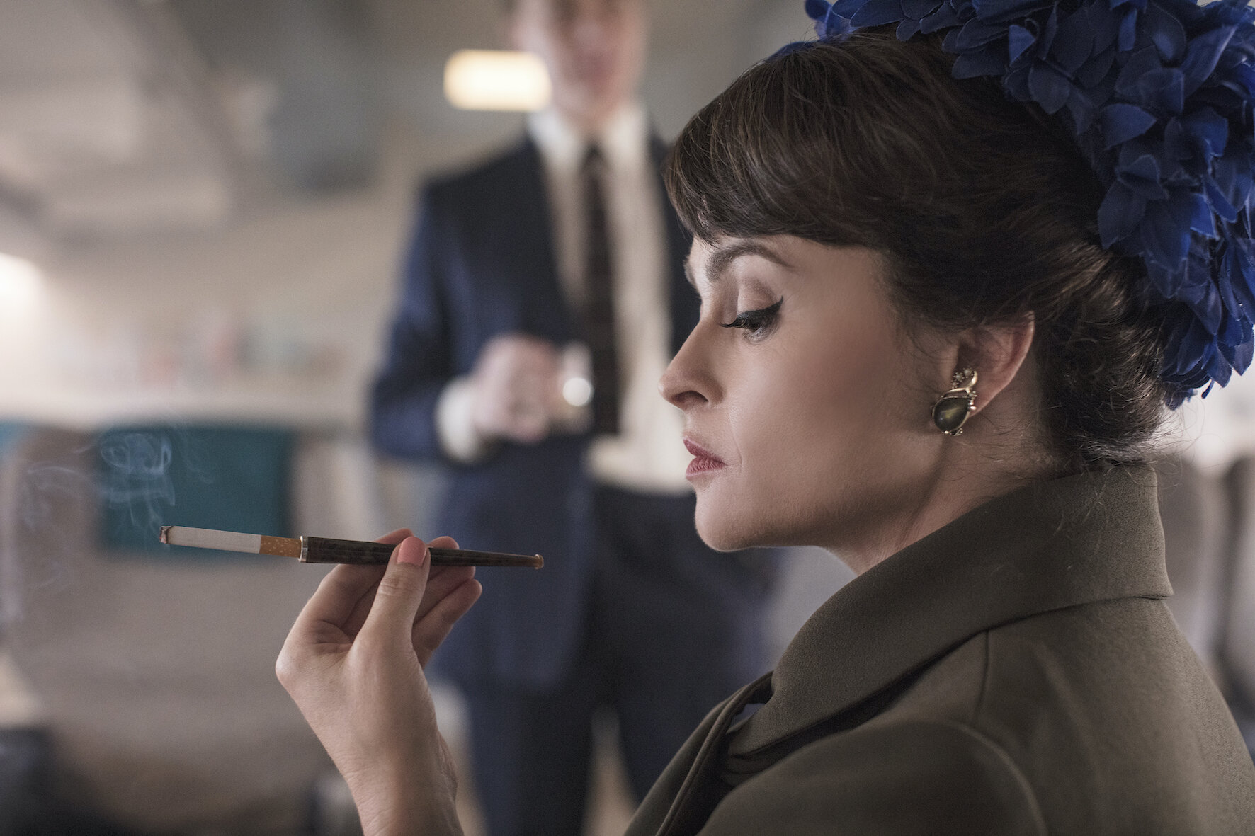 Helena Bonham Carter spielt Prinzessin Margaret in der preisgekrönten Netflix-Produktion. © Sophie Mutevelian