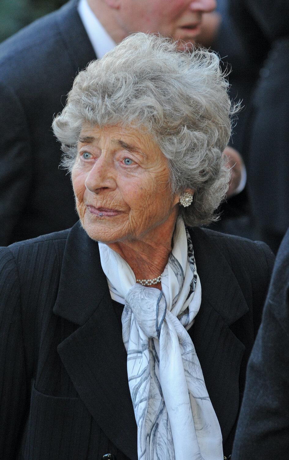 Paula zu Fürstenberg stirbt mit 93 Jahren.  © dpa