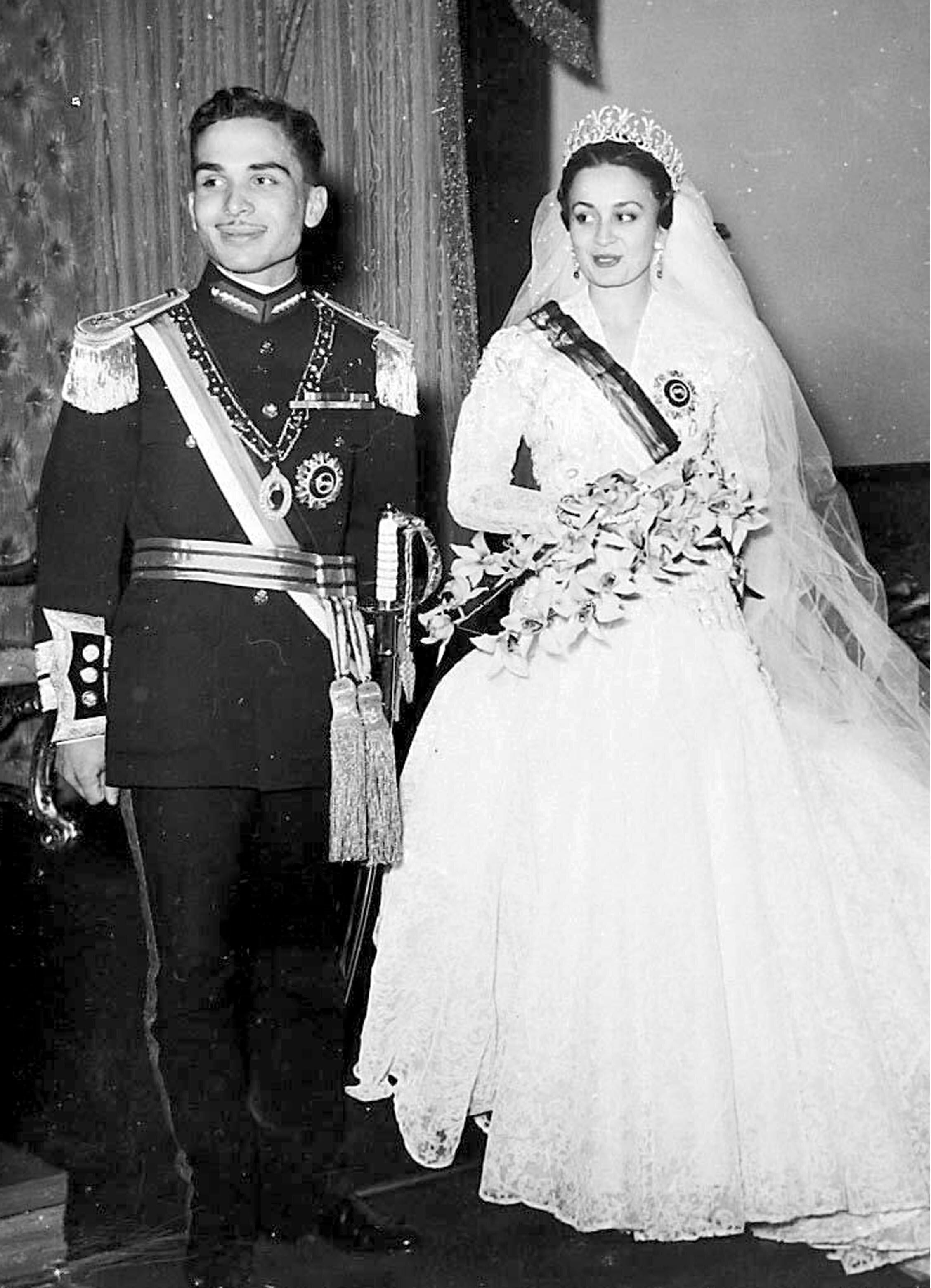 Prinzessin Dina Abdul Hamid war die erste Ehefrau von König Hussein I.  © United Archives